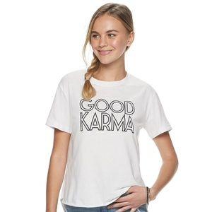 GOOD KARMA T Shirt-NWT-Women's Small